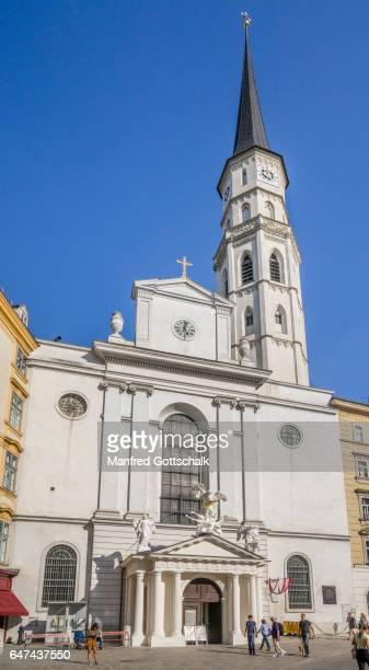 Romanesque St. Michael's Church Vienna
