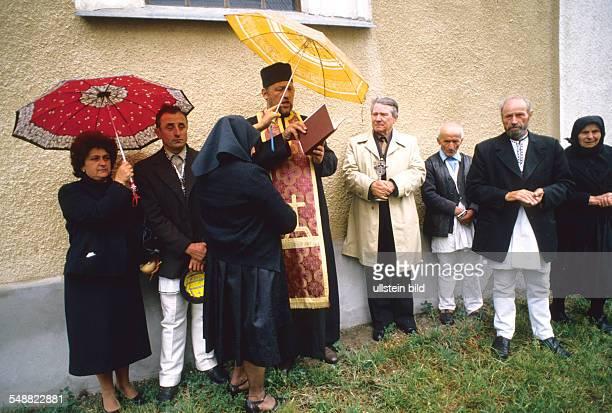 A requiem mass in the orthodox church of Hodac