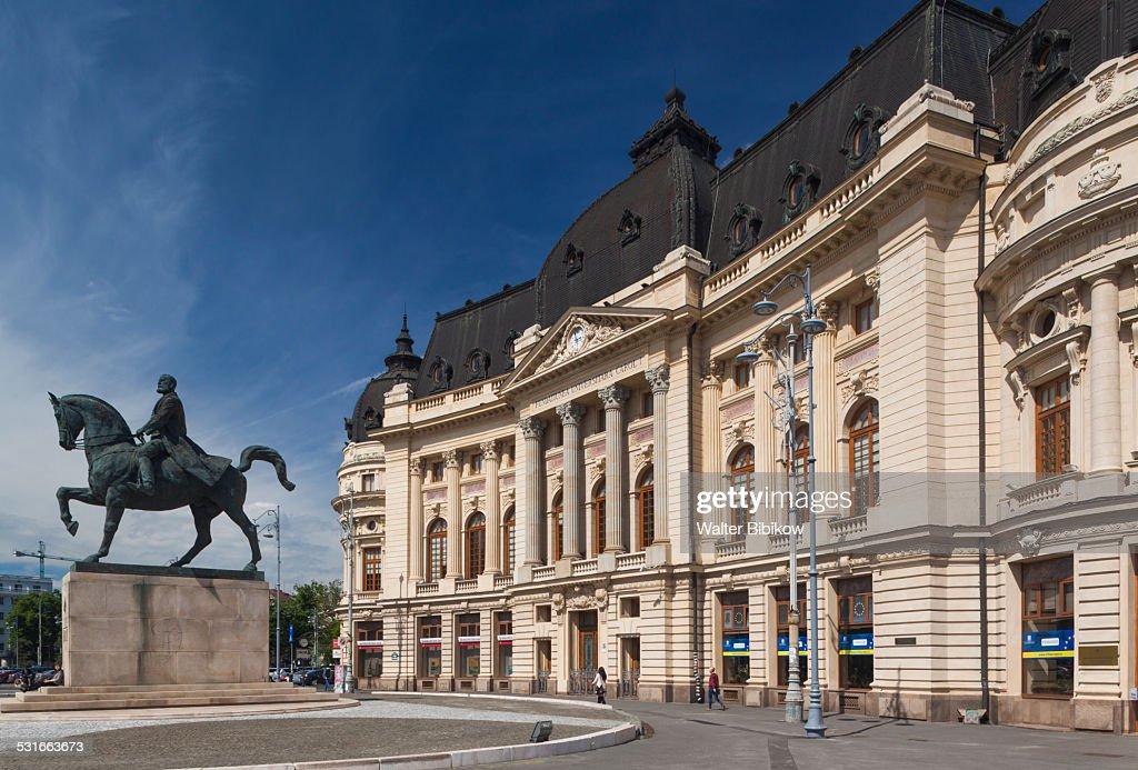 Romania, Bucharest, Exterior : Stock Photo