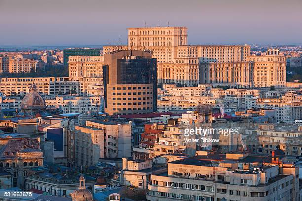 romania, bucharest, exterior - bucharest stock pictures, royalty-free photos & images