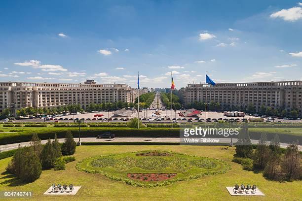 Romania, Bucharest, Exterior