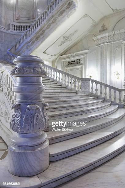 romania, bucharest, interior - bukarest stock-fotos und bilder