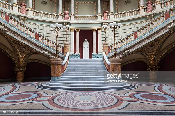 romania, bucharest, interior - palace stock pictures, royalty-free photos & images