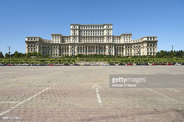 Rumänien das Parlamentsgebäude