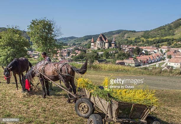 Romania Sibiu County Biertan City Fortified Church of Biertan world heritage
