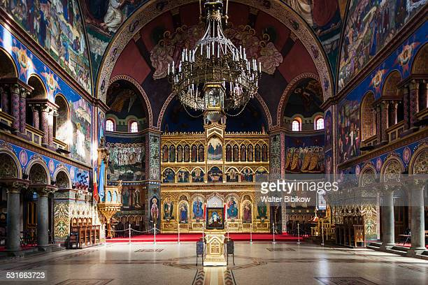 romania, transylvania, interior - sibiu stock-fotos und bilder
