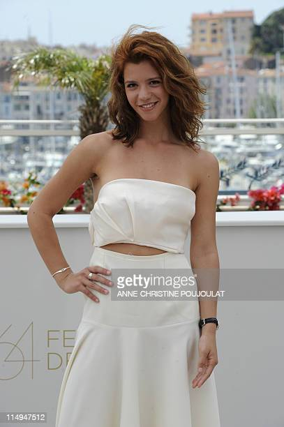 Romanian actress Ada Condeescu poses during the photocall of Loverboy presented in the Un Certain Regard selection at the 64th Cannes Film Festival...