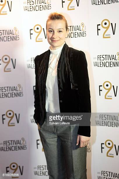 Romanian actress Anamaria Marinca attends 6th Valenciennes Cinema Festival on March 16 2016 in Valenciennes France