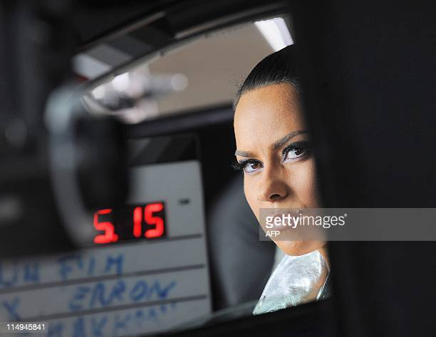 WESSELINGH Romanian dance music singer INNA is pictured during the shooting of a new videoclip in Bucharest on May 23 2011 Alexandra Apostoleanu aka...