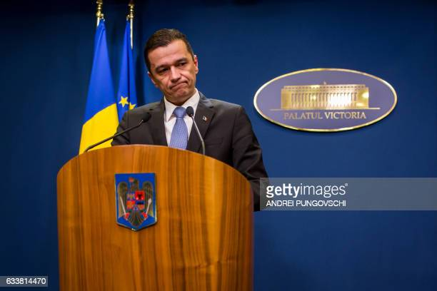 Romanian Prime Minister Sorin Grandeanu announces that the government will cancel the controversial decree reducing some penalties for corruption...