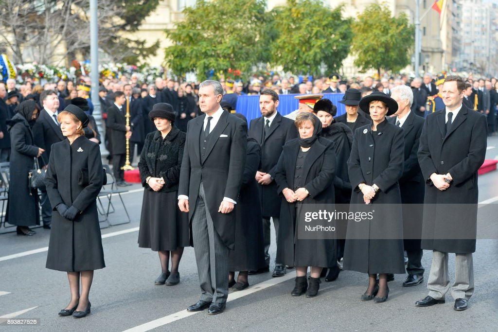 Romania King's Funeral : News Photo