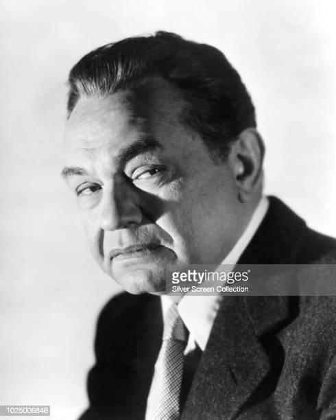 RomanianAmerican actor Edward G Robinson circa 1950