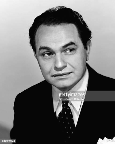 Romanianborn American actor Edward G Robinson circa 1935