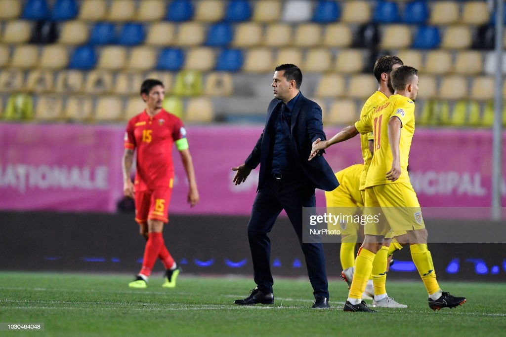 Romania v Montenegro - UEFA Nations League : News Photo