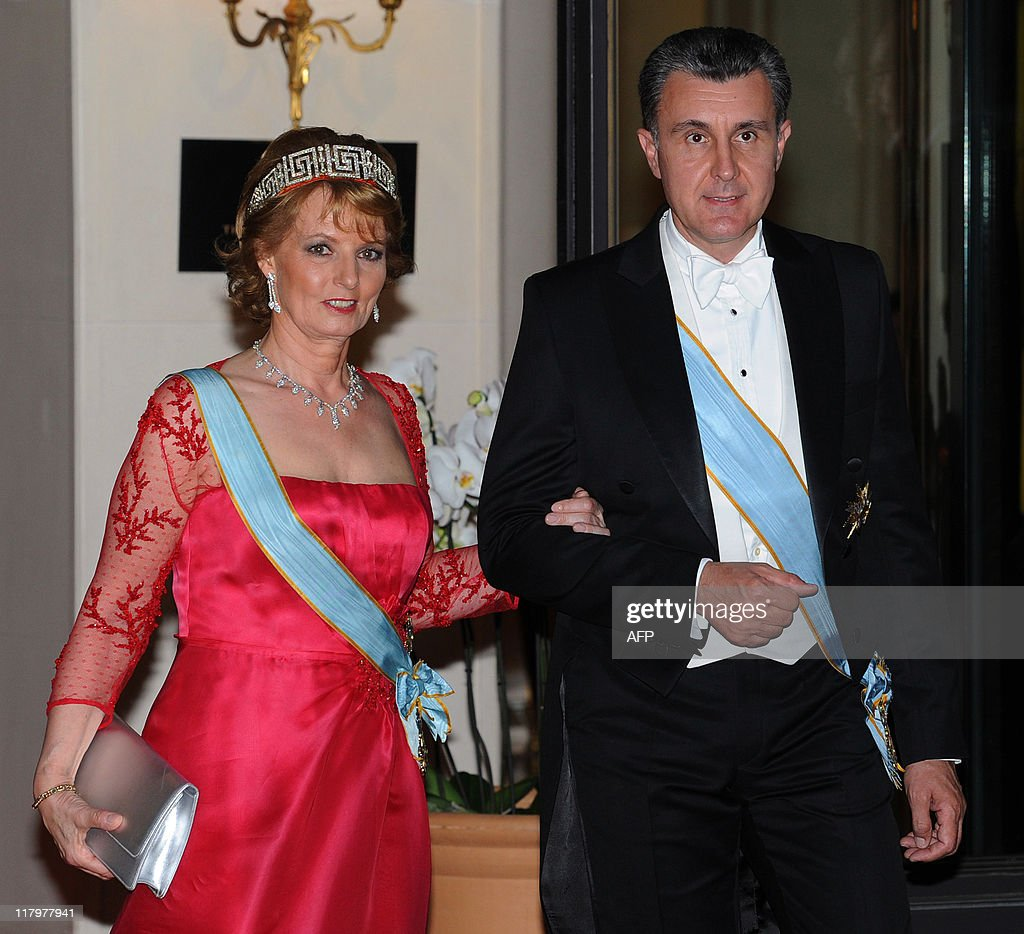 Romania's Crown Princess Margarita and h : News Photo