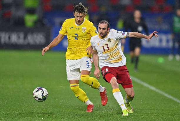 ROU: Romania v Armenia - 2022 FIFA World Cup Qualifier
