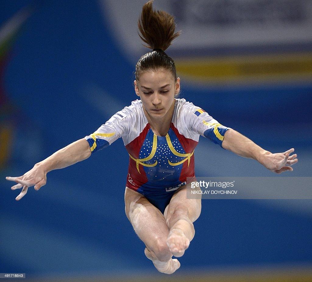 Romania's Diana Laura Bulimar competes ...