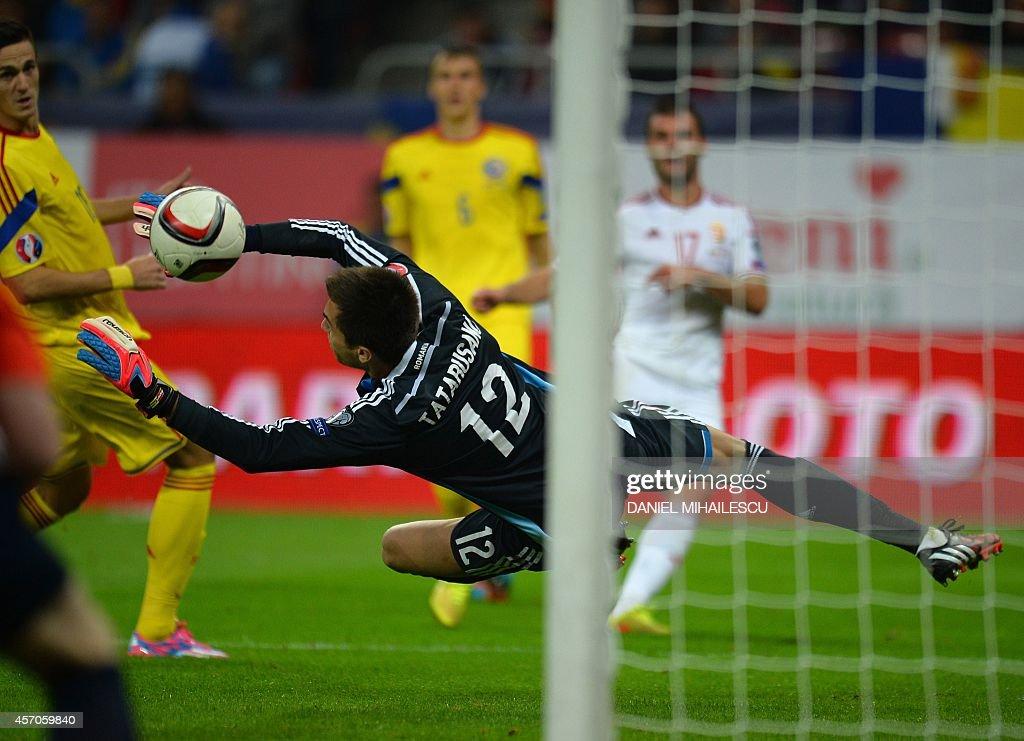 FBL-EURO-2016-ROM-HUN : News Photo