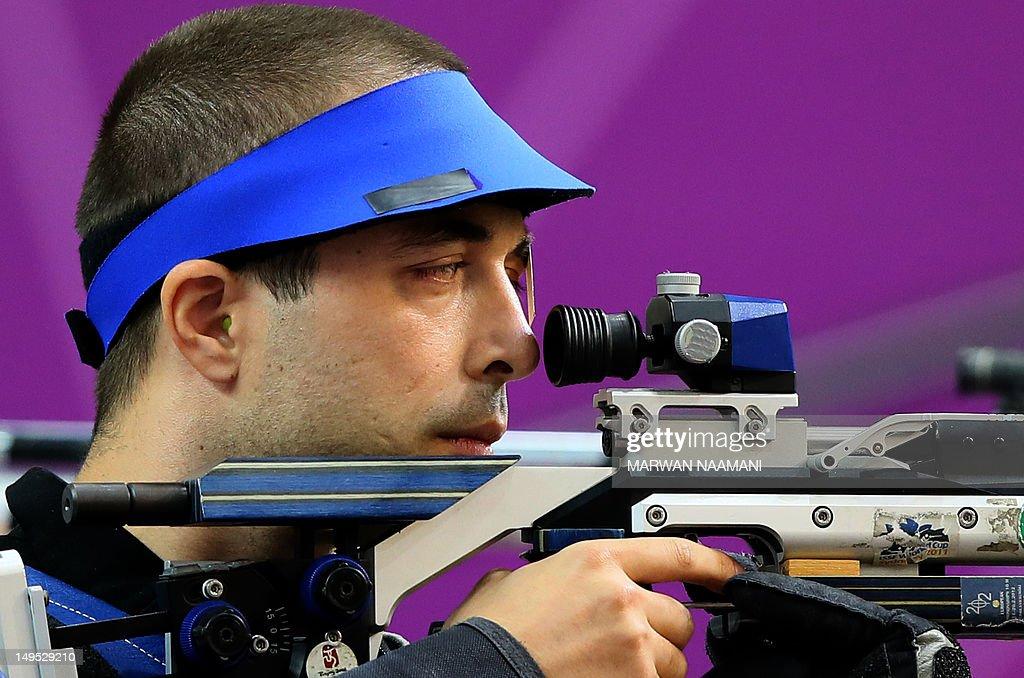 Romania's gold medalist Alin George Mold : News Photo