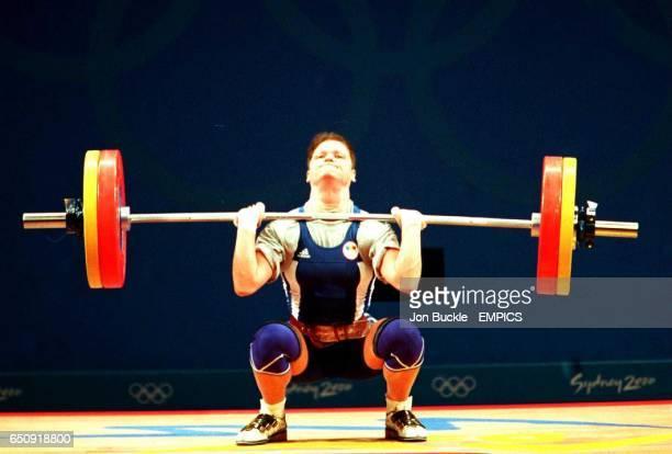 Romania's Marioara Munteanu in action