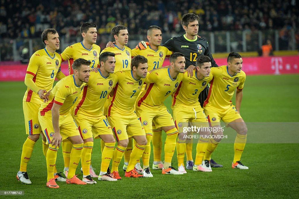 FBL-EURO-2016-FRIENDLY-ROU-ESP : News Photo