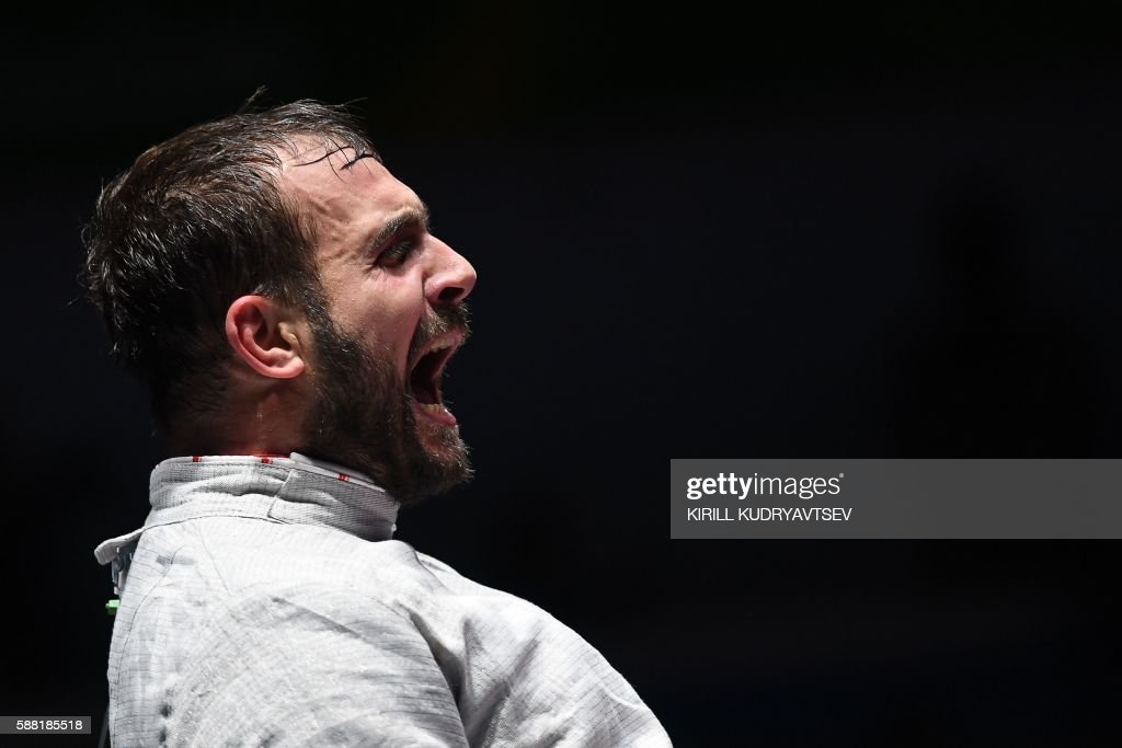 TOPSHOT-FENCING-OLY-2016-RIO : News Photo
