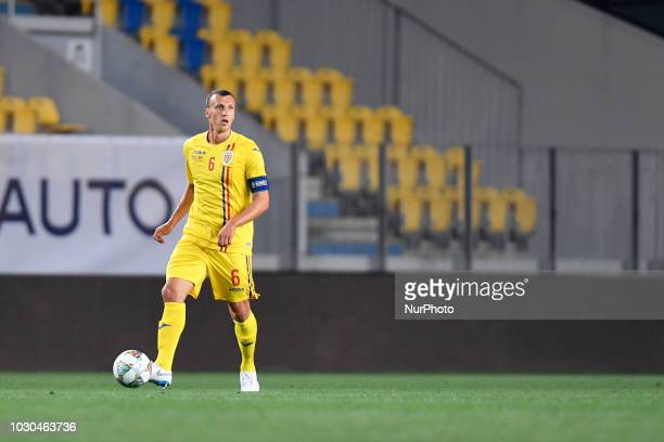 Romania's Vlad Chiriches during UEFA Nations League 2019 Final Tournament match between Romania and Montenegro on 07 September 2018 at Ilie Oana...