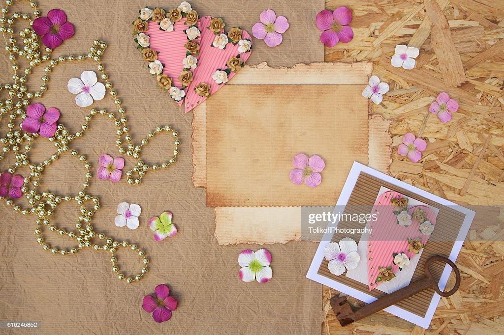 Romantic background : Stock Photo