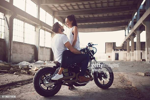 Romantic Bikers