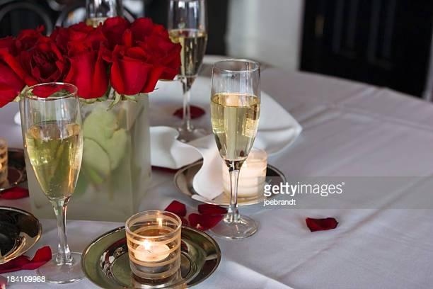 Jantar romântico à luz das velas III