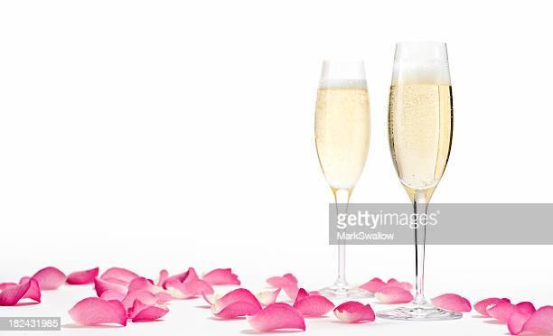 Romántica con champán Horizontal