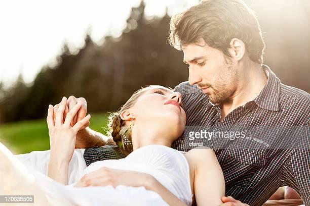 Romantische Paar