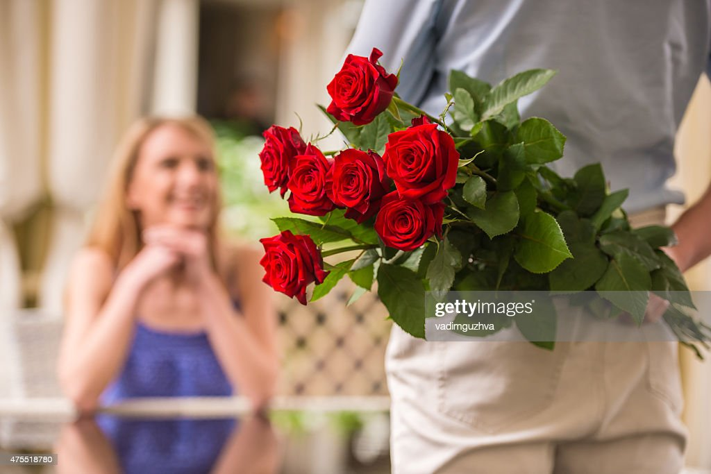 Romantic date : Stock Photo