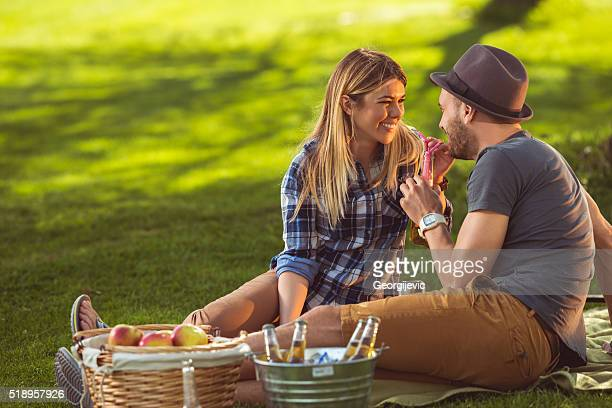 Romantic day outdoors