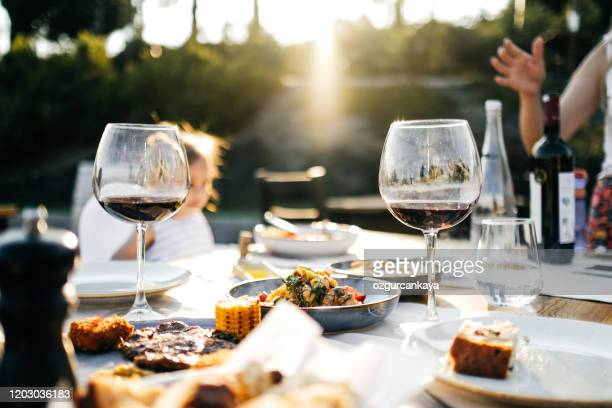 romantic dinner for two - cabernet sauvignon grape stock pictures, royalty-free photos & images