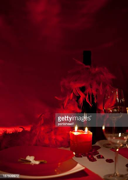 romantic dinner - valentines day dinner stock pictures, royalty-free photos & images