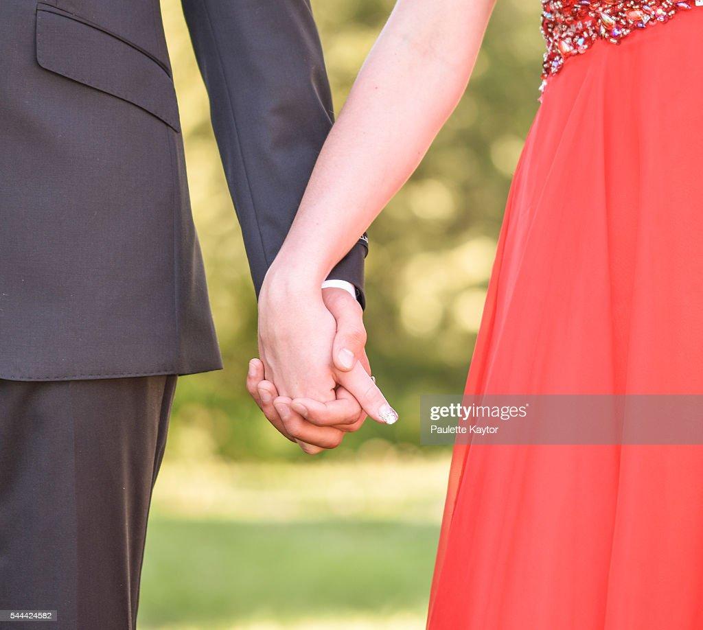 Romantic Hand Holding