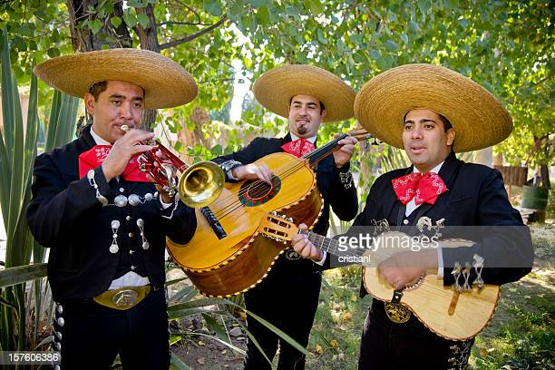 romantic mariachi band - mariachi stock pictures, royalty-free photos & images