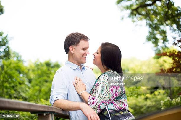 Romantische Älteres Paar