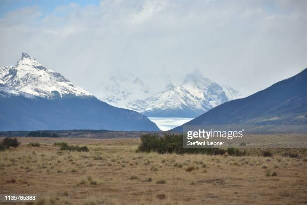 romantisches patagonien - pampa stock-fotos und bilder