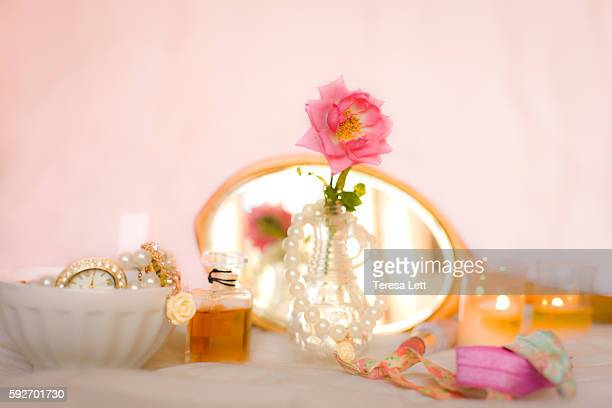 Romantic  still life with candles