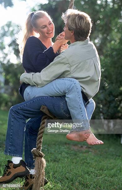 Romantic swinging