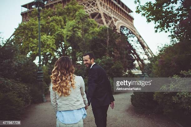 Balade romantique dans les jardins de Paris