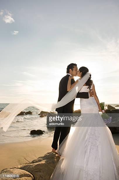 Romantische Hochzeit Paar