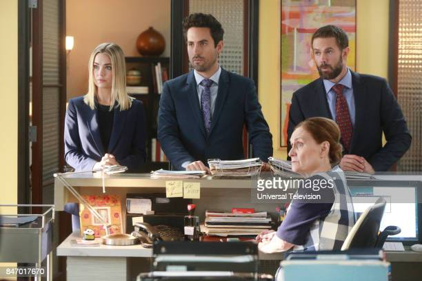 PROJECT A Romantical Decouplement Episode 602 Pictured Rebecca Rittenhouse as Anna Ed Weeks as Jeremy Reed Garret Dillahunt as Jody KimballKinney...