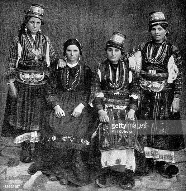 Romany women Albania 1922 From Peoples of All Nations Their Life Today and the Story of Their Past volume I Abyssinia to the British Empire edited by...
