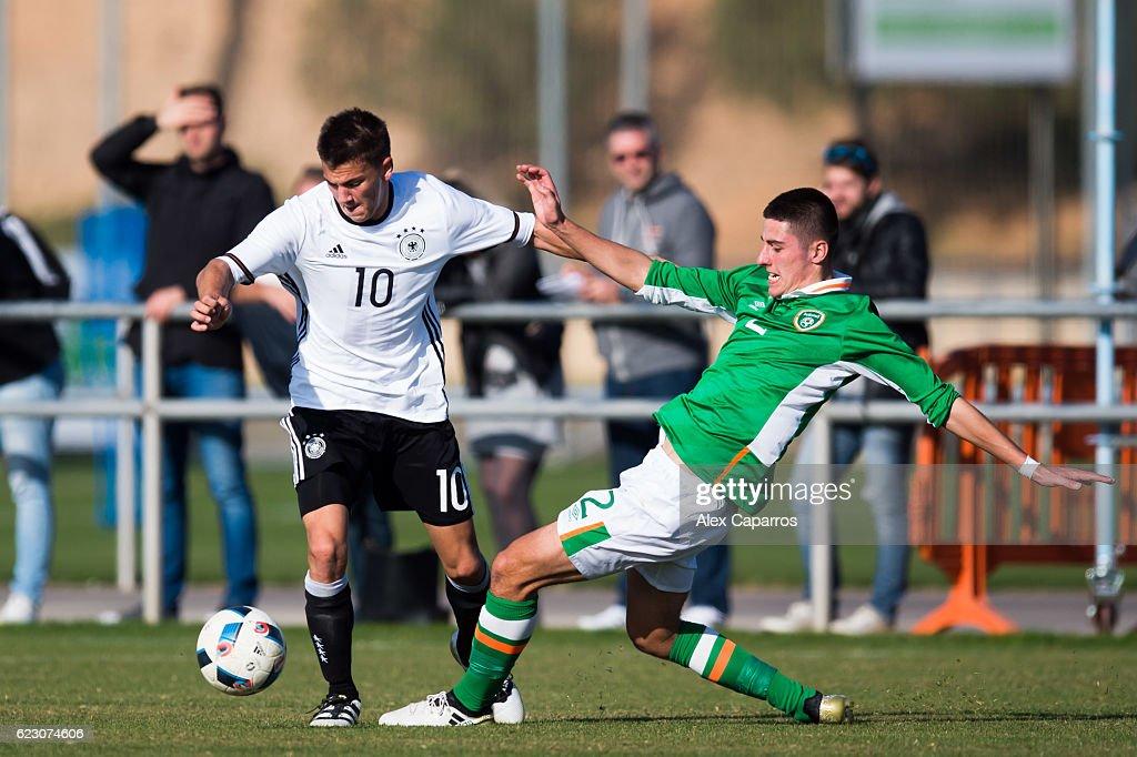 Ireland U18 v Germany U18 - International Friendly : News Photo