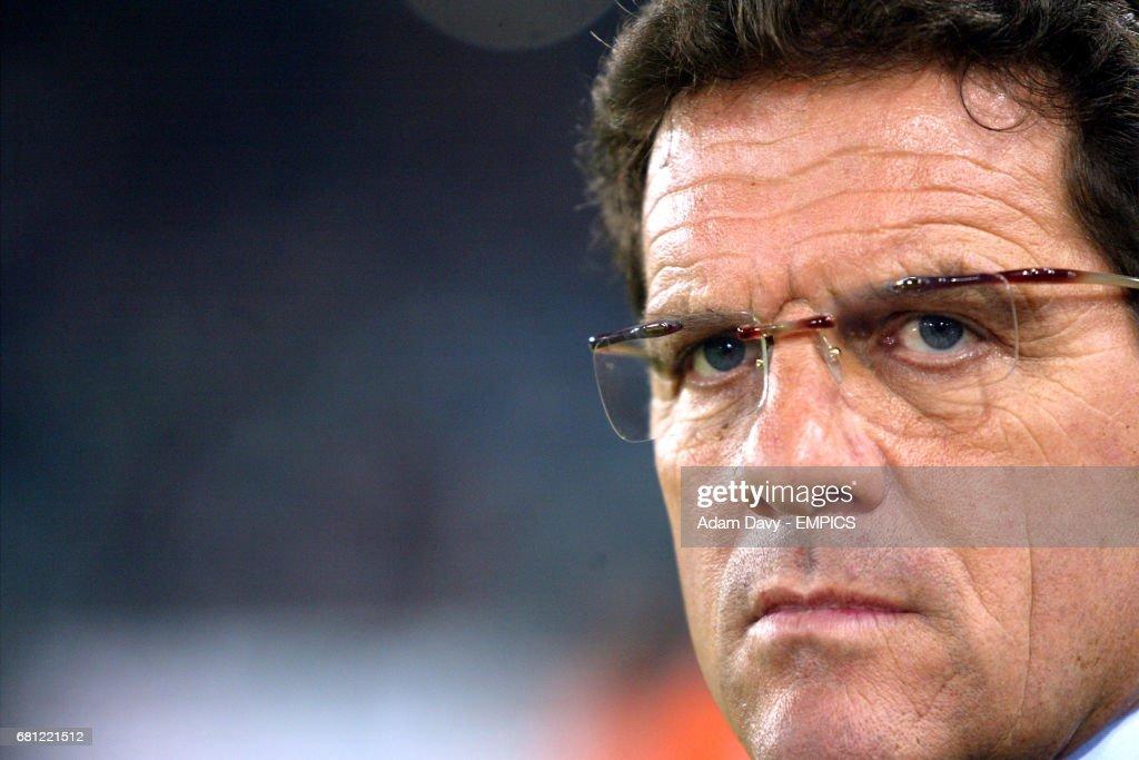 Roma's coach Fabio Capello