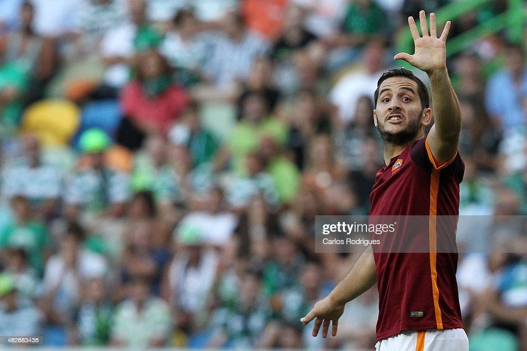 Sporting CP v AS Roma: Pre-Season Friendly : News Photo