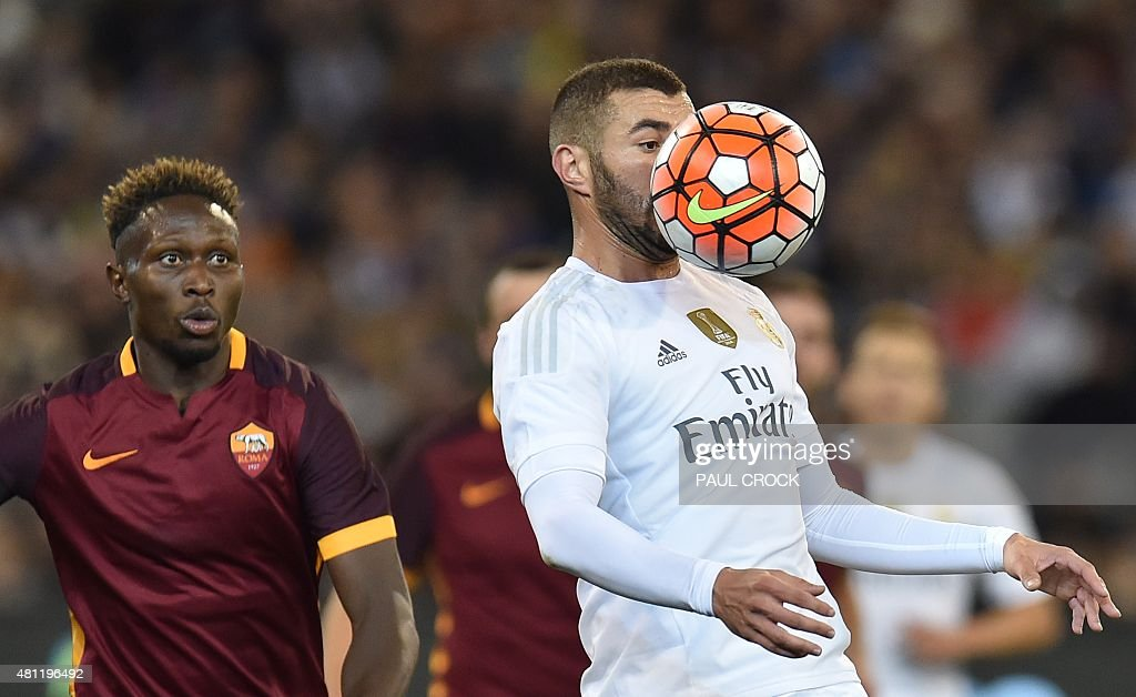 FBL-AUS-ESP-ITA-REAL MADRID-AS ROMA-CUP : News Photo